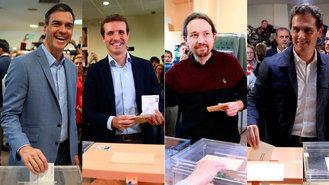 Sube la participación : más del 60% a las 18:00 horas, 9 puntos por encima de 2016; En Guadalajara se ha situado en el 62,58% frente a 52,29 por ciento de 2016