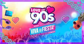 """Atención: Se cancela por causas de carácter técnico el concierto """"Love 90: Viva la Fiesta"""""""