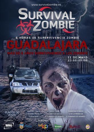 Todo listo para el Survival Zombie de este sábado en Guadalajara