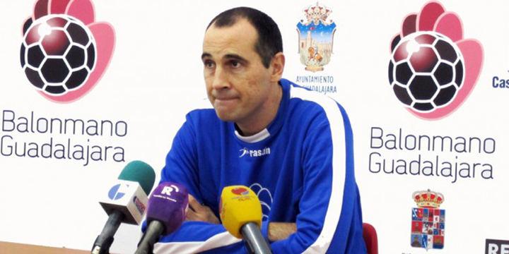 César Montes se despide del Quabit BM Guadalajara tras cinco fructíferas temporadas al frente del conjunto alcarreño