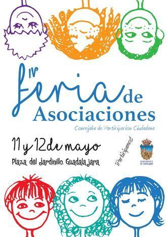 46 asociaciones ciudadanas participan este año en la 4ª edición de la Feria de las Asociaciones de Guadalajara