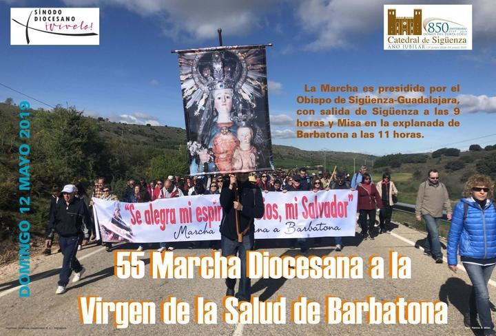 El próximo domingo tendrá lugar la 55 Marcha Diocesana a Barbatona