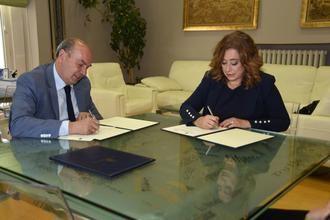 La Diputación colabora con la Asociación de la Prensa para la promoción de sus actividades y la formación de sus asociados