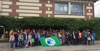 Diez centros escolares reciben la 'Bandera Verde' dentro del proyecto Ecoescuelas que promueve la Diputación de Guadalajara