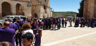 La I Marcha por la Igualdad recorrió los 10 kilómetros entre Escamilla y Salmerón