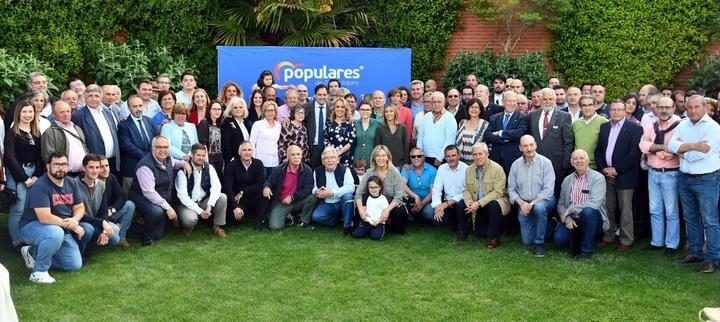 Paco Núñez mantiene un encuentro con los candidatos del PP a las Alcaldías de Guadalajara