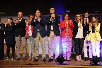 Paco Núñez presenta la candidatura de Antonio Román al Ayuntamiento de Guadalajara