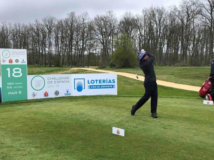 Sebastián García, Martín Simonsen, Rasmus Højgaard y Marcus Armitage marcan el ritmo en Izki Golf