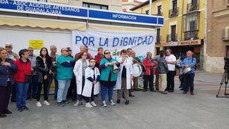 """Protestas en la Sanidad de Guadalajara: """"En cinco años se van a jubilar un 40% de los médicos de Atención Primaria"""""""