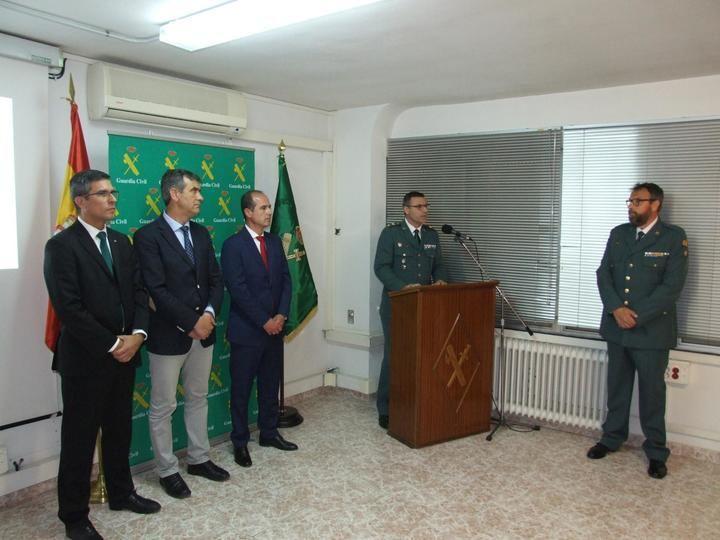 La Comandancia de Guadalajara conmemora los 175 años de la fundación de la Guardia Civil