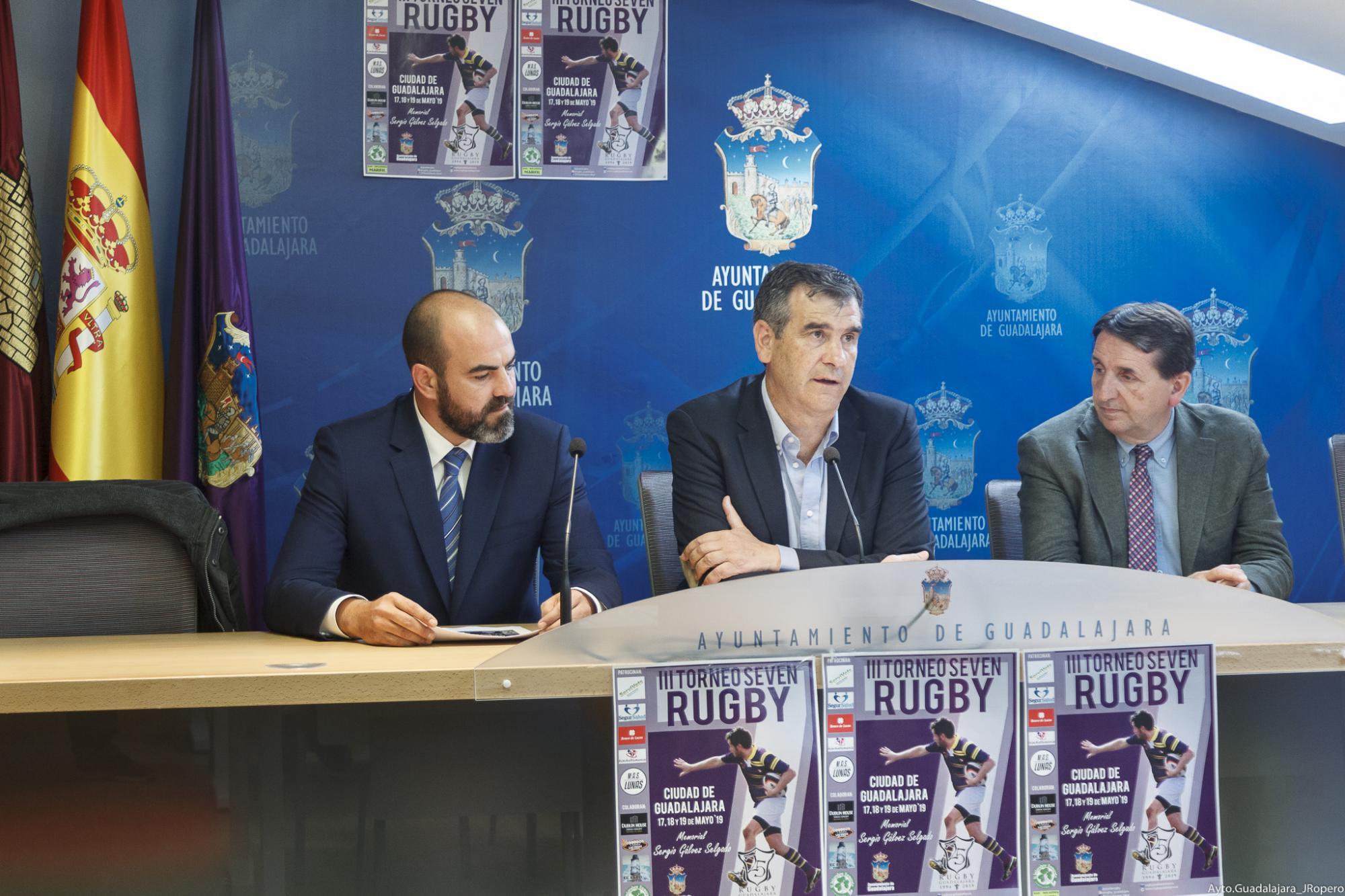 """19 equipos venidos de toda España disputarán el III Torneo Seven de Rugby """"Memorial Sergio Gálvez"""""""