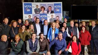 Guarinos califica al PP como municipalista por ser el partido que mejor defiende a los alcaldes, a los concejales y a los municipios