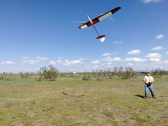 Este domingo, prueba del Campeonato Regional de Aeromodelismo de planeadores en la categoría F3JB en Usanos