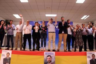 Paco Núñez presenta a Víctor de Blas como candidato del PP a la Alcaldía de Galápagos