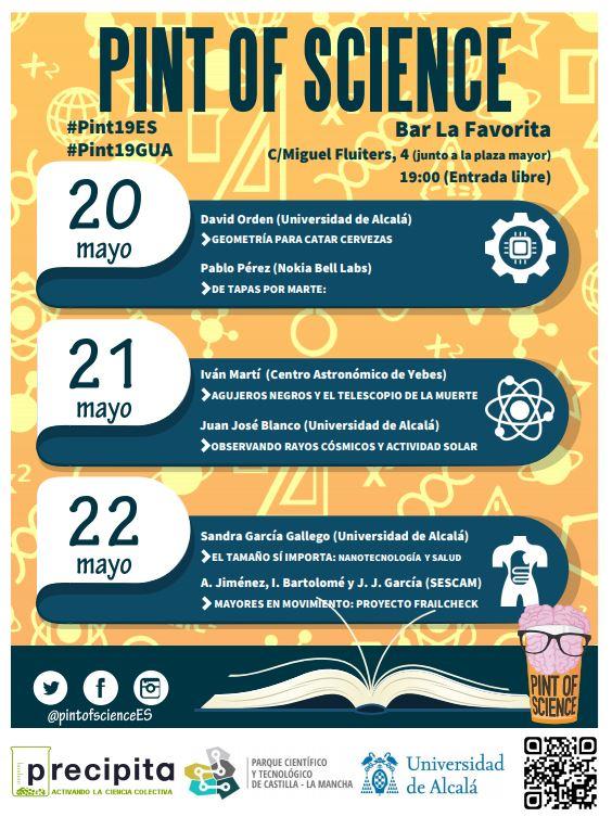 Pint of Science 2019: El festival que lleva la ciencia a los bares se celebra en Guadalajara