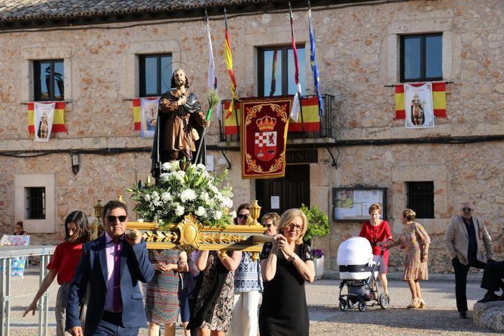Fuentenovilla celebró el día de San Isidro Labrador