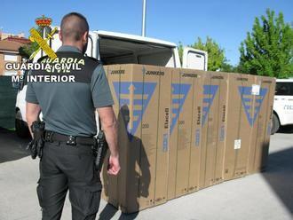 Dos detenidos por robar cinco calderas de un camión en un polígono de Alovera