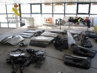 La Guardia Civil desmantela en Cabanillas una organización criminal dedicada al robo de vehículos que vendían en Europa del Este