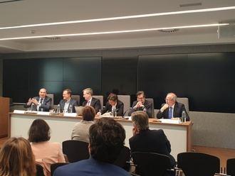 Latre defiende la España de las oportunidades en un debate en Madrid sobre despoblación y equilibrio territorial