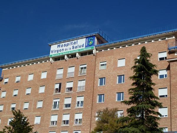 Trasladados cinco trabajadores al Hospital Virgen de la Salud de Toledo por el incendio de una fábrica de piensos