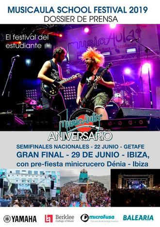 "Décimo Aniversario de ""MusicAula School Festival"""