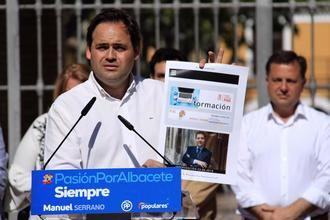 """Núñez denuncia que """"Page se presenta a las elecciones autonómicas con el mismo programa que en 2015 porque no ha cumplido ni una sola de sus promesas"""""""