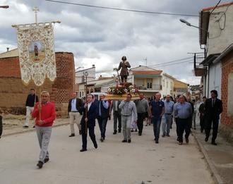 Terminan las celebraciones de San Isidro en Málaga del Fresno