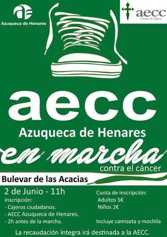 Abierta la inscripción en la carrera 'En marcha contra el cáncer' que se celebrará el 2 de junio en Azuqueca