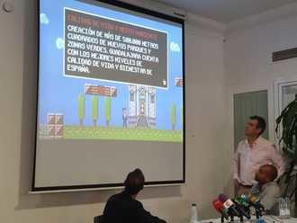 """""""Super Antonio Román"""", una novedosa iniciativa que escenifica su carrera electoral a través de un videojuego"""