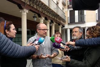 """Alejandro Ruiz: """"Estamos contentos porque casi hemos triplicado el número de concejalías y alcaldías"""""""