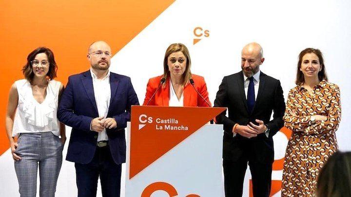 Los de Ciudadanos estan felices de la vida por sus cuatro diputados autonómicos en CLM y por ser decisivos en ayuntamientos