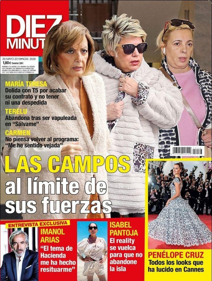 DIEZ MINUTOS Las Campos en su peor momento profesional