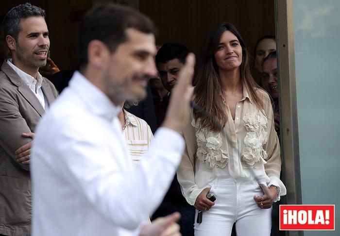 ¡HOLA! La respuesta de Iker Casillas tras el difícil anuncio de Sara Carbonero