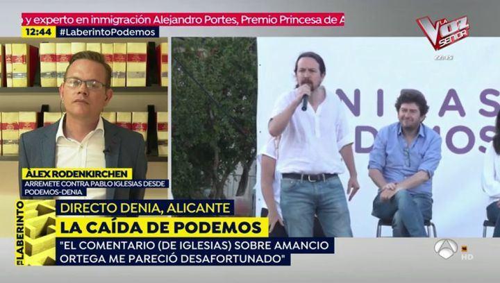 """El de Podemos de Denia estalla contra Pablo Iglesias : """"Coletas, cállate la puta boca"""""""