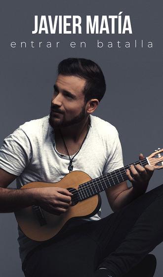 Javier Matía presentará su álbum 'Entrar en batalla' en el TABV