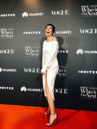 Eugenia Osborne, de JCPAJARES SS19 en la fiesta WON de Vogue