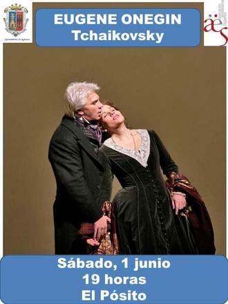 'Vive la Opera en Sigúenza' regresa este sábado con 'Eugene Onegin' de Tchaikovsky