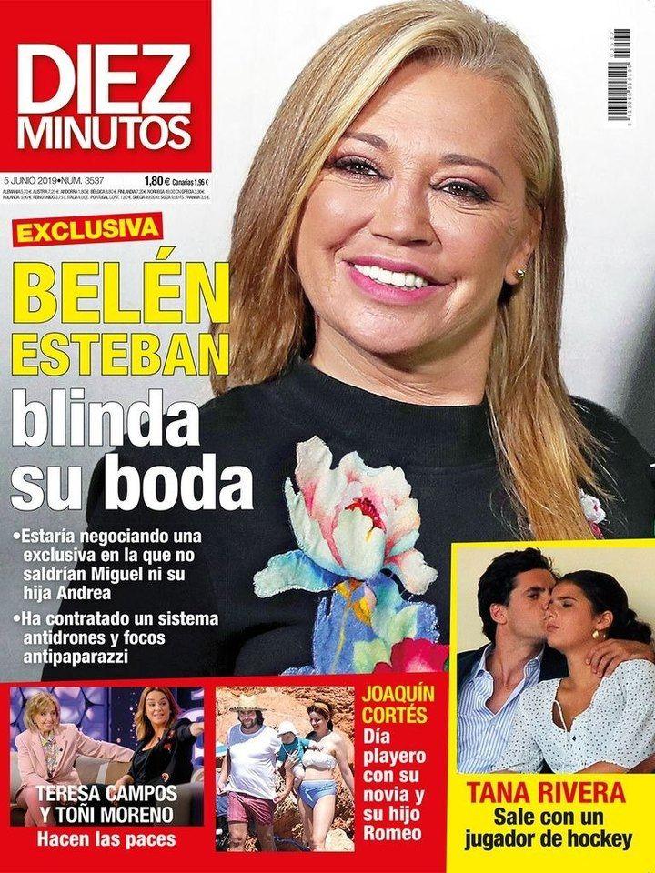 """DIEZ MINUTOS María Patiño a degüello con Carmen Borrego: """"Falsa, estafadora, cobarde"""""""