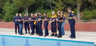 La Escuela de Protección Ciudadana forma a voluntarios de Protección Civil en la prevención de riesgos y accidentes en piscinas