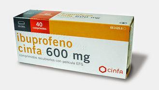 El ibuprofeno de 600 mg y el paracetamol de 1 gr ya no se podrán comprar en la famacia sin receta