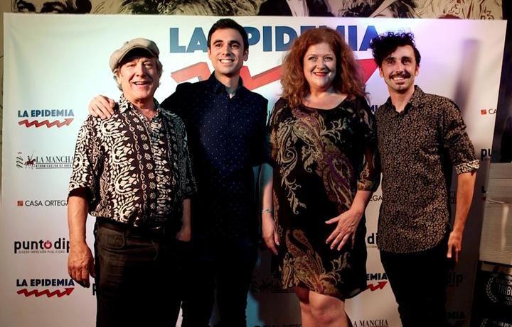 De izquierda a derecha: Mariano Venancio, Pablo Conde, Mamen Hidalgo y Canco Rodríguez  (FOTO: Jorge Pollan)