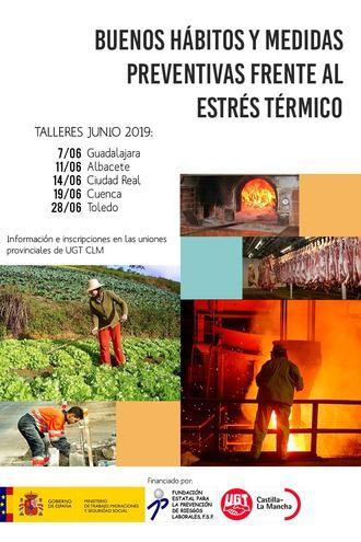 UGT advierte del incremento de riesgos laborales por temperaturas extremas a partir de junio