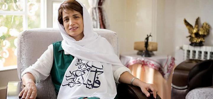 Acto protesta en Guadalajara por la abogada iraní Nasrin Sotoudeh