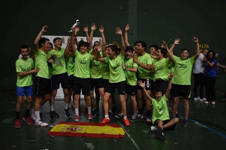El Liceo Caracense y Agustiniano-Sagrado Corazón se alzan campeones del Guadalajoven 2019 organizado por la Diputación