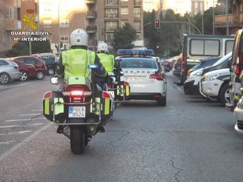 Detectan 38 alcoholemias positivas en carreteras de la provincia de Guadalajara el pasado fin de semana