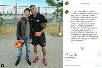 Conmovedora y emotiva Carta de Despedida del hijo del futbolista José Antonio Reyes