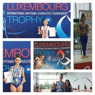 Las 'infantas' Aimara Fajardo, Alba Lázaro y Lizi Labadze triunfan en Luxemburgo
