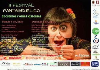 Este fin de semana, III Festival Pantagruélico de Cuentos y Otras Historias en Sigüenza