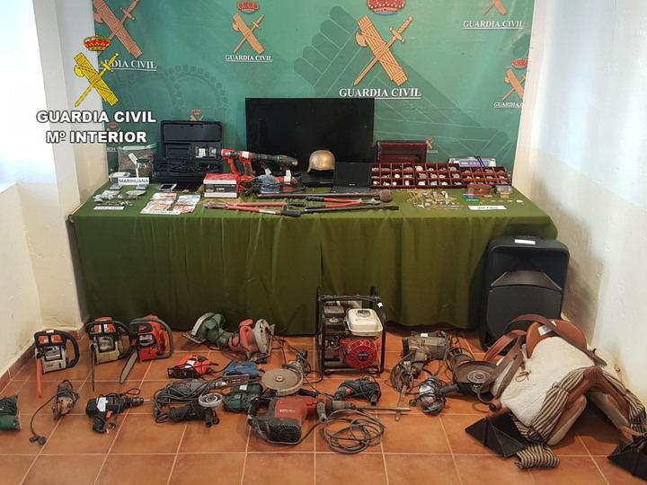 La Guardia Civil de Ciudad Real detiene a 14 personas e investiga a otras dos por 60 robos en Iglesias y Ayuntamientos