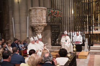 Clausura del jubileo de la catedral de SIgüenza